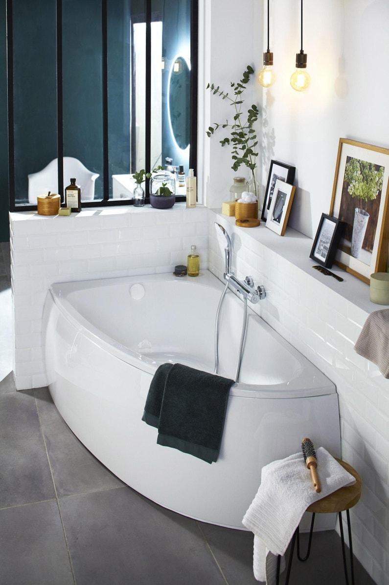 Decoration Tablier De Baignoire tablier de baignoire d'angle l.150x l.90 cm, jacob delafon duomega 2