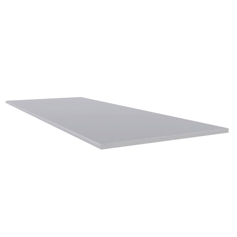 planche plate pvc freefoam faza solid gris 3 m leroy merlin. Black Bedroom Furniture Sets. Home Design Ideas