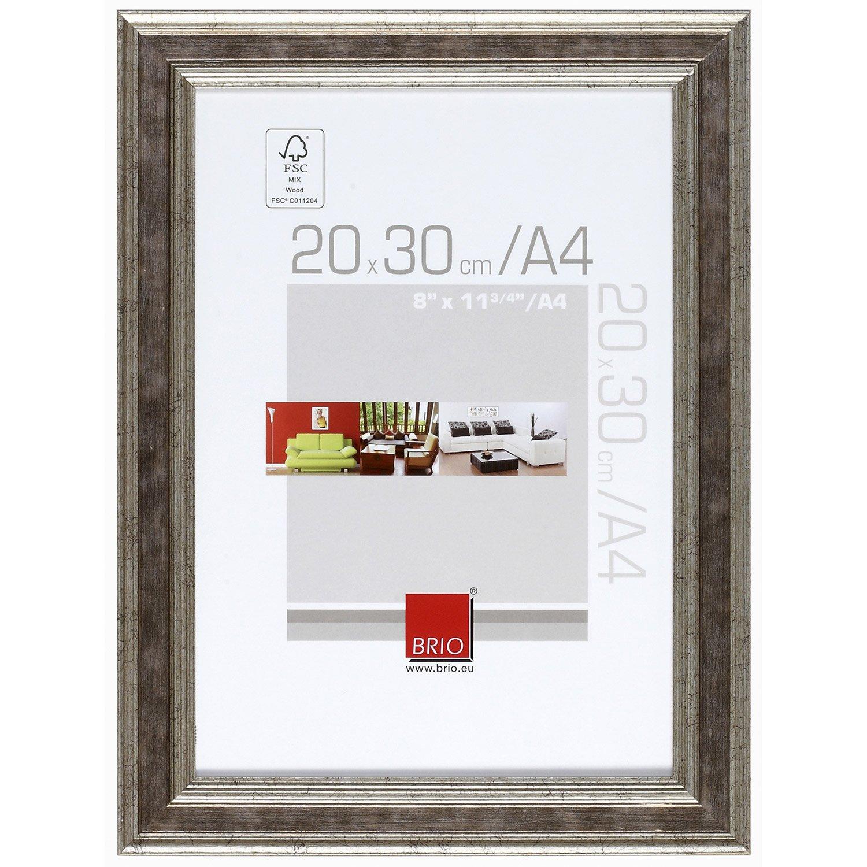 cadre ga a 20 x 30 cm argent leroy merlin. Black Bedroom Furniture Sets. Home Design Ideas