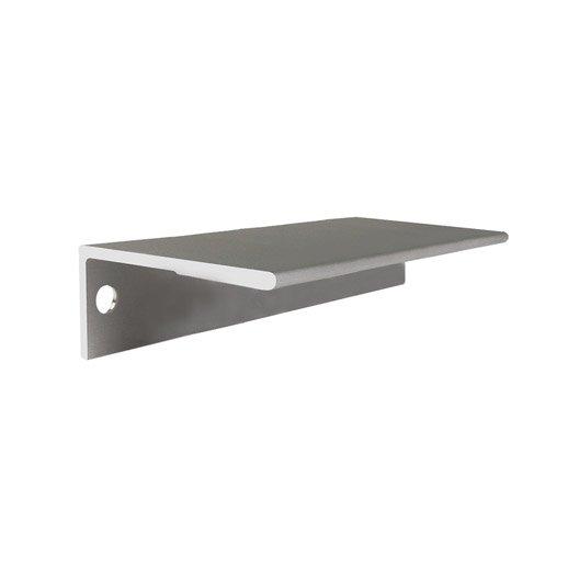 Poign E De Meuble Profil Aluminium Anodis Entraxe 64 Mm