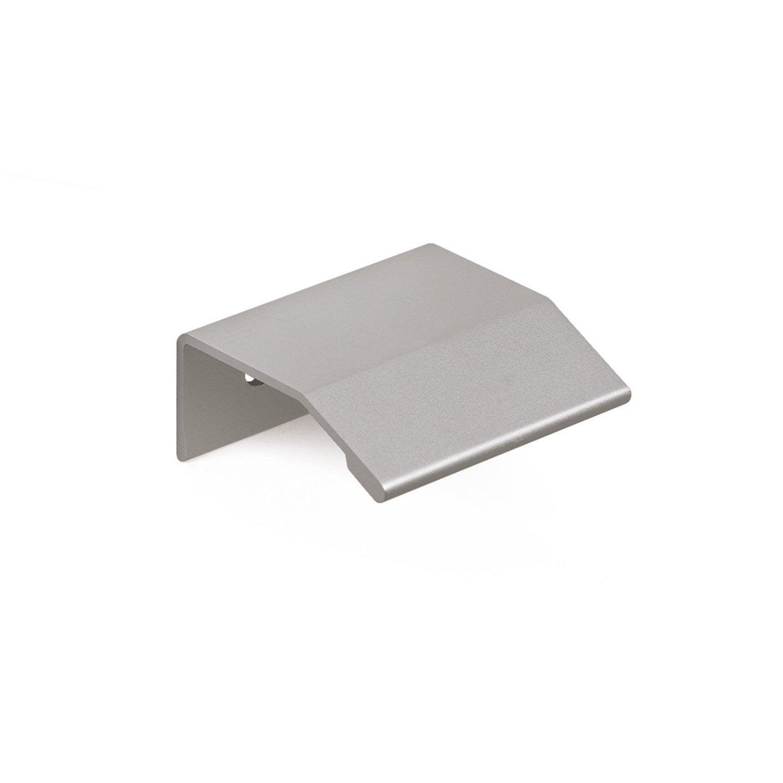 Furniture Handle Anodized Aluminum Profile Center Distance 64 Mm