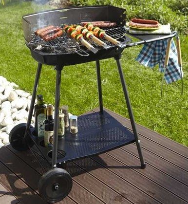Barbecue gaz pierre de lave leroy merlin for Barbecue a gaz leroy merlin