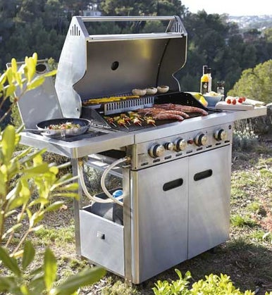Bien choisir son barbecue leroy merlin for Barbecue le roy merlin