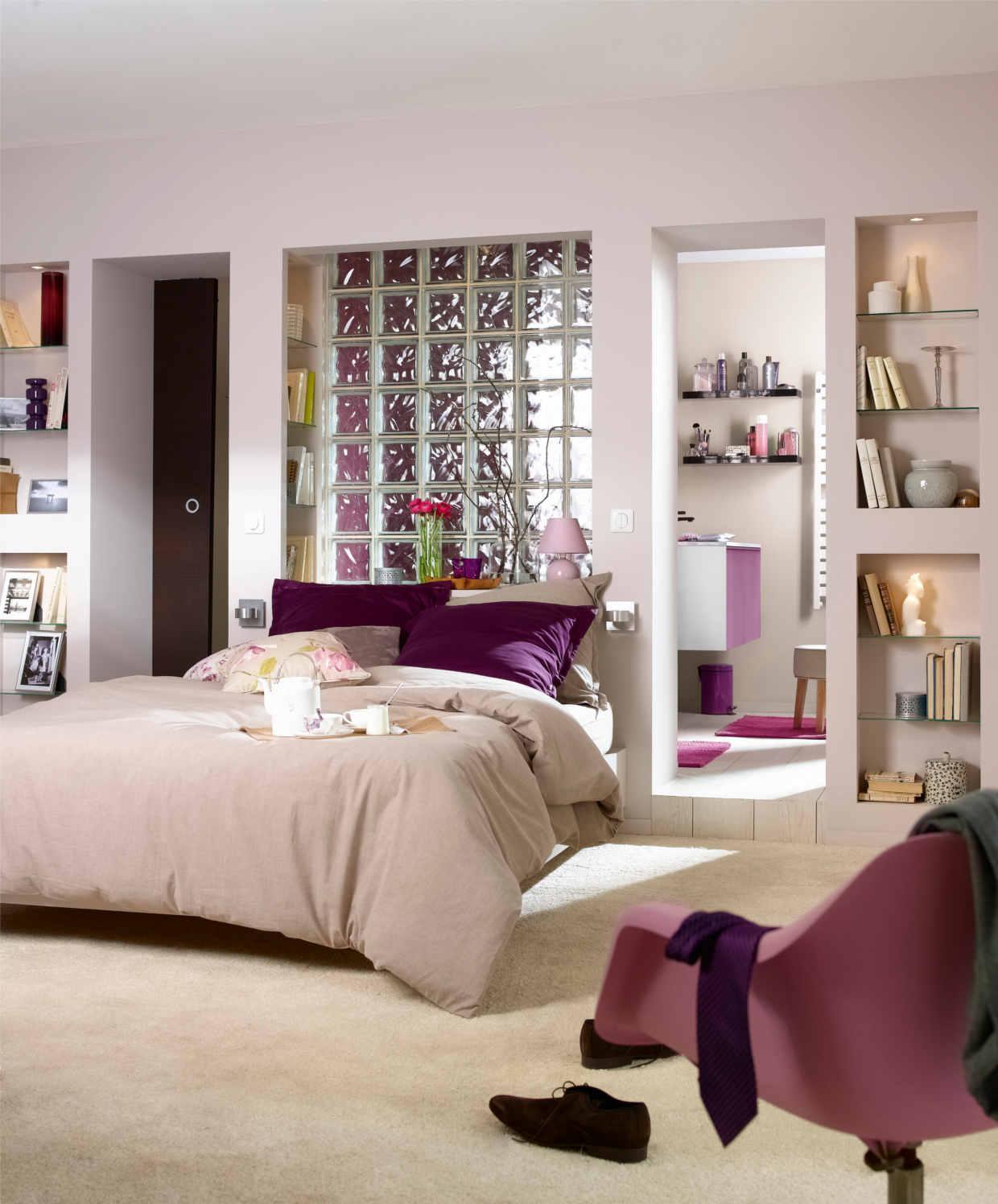 Delightful Faire Une Salle De Bain Dans Une Chambre #8: Créer Des Espaces Du0027intimité