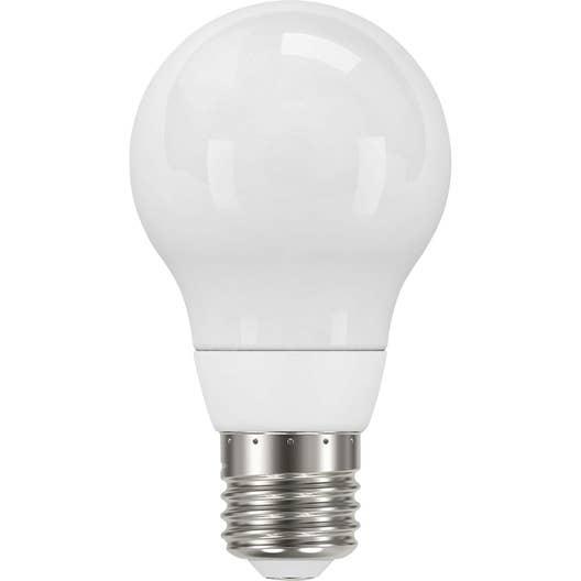 ampoule standard led 5 5w 470lm quiv 40w e27 3000k 300 lexman leroy merlin. Black Bedroom Furniture Sets. Home Design Ideas