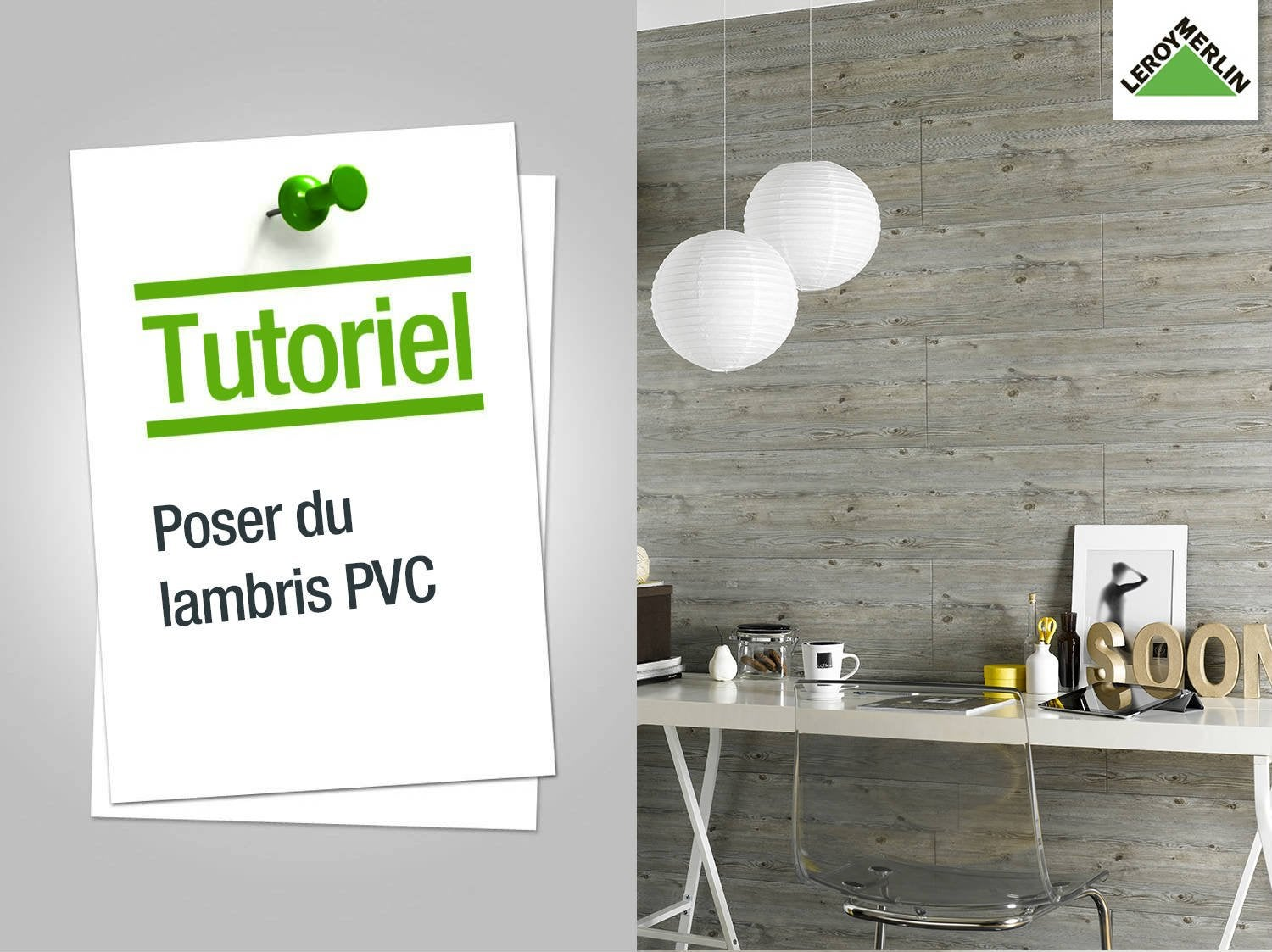 comment poser du lambris pvc leroy merlin