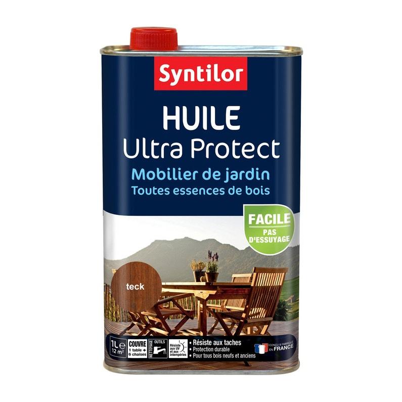 Huile SYNTILOR Ultra protec 1 l, teck
