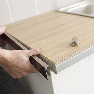 Plan de travail et cr dence cuisine leroy merlin - Caisse en bois leroy merlin ...