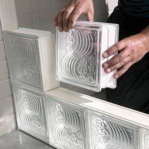plaquette de parement et brique de verre leroy merlin. Black Bedroom Furniture Sets. Home Design Ideas