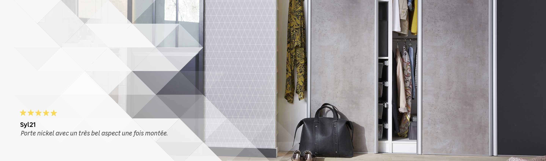 comment fermer un dressing comment raliser un bel amnagement de placard pour crer un dressing. Black Bedroom Furniture Sets. Home Design Ideas