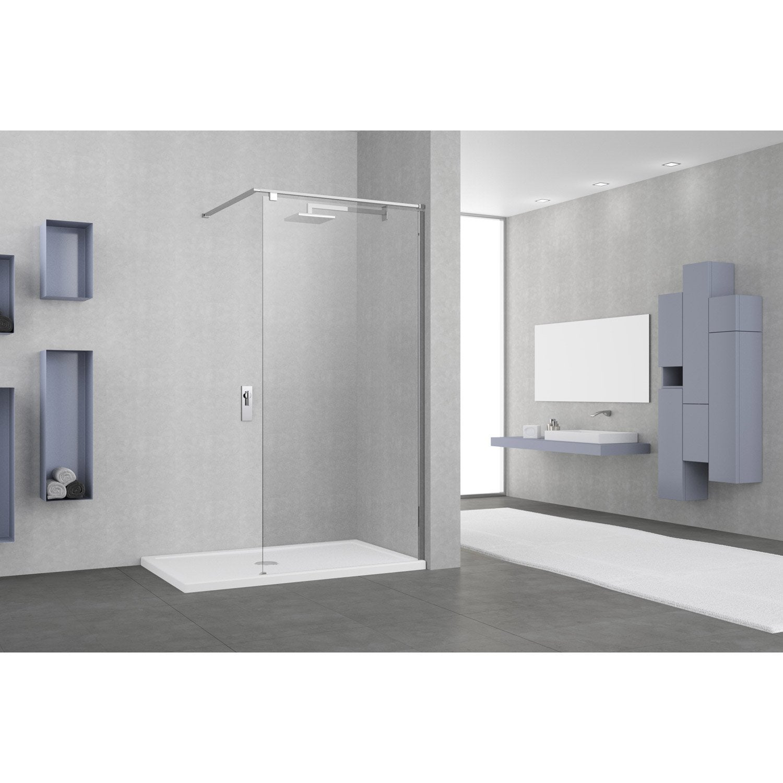 Paroi de douche l 39 italienne cm verre transparent - Paroi de douche 140 ...