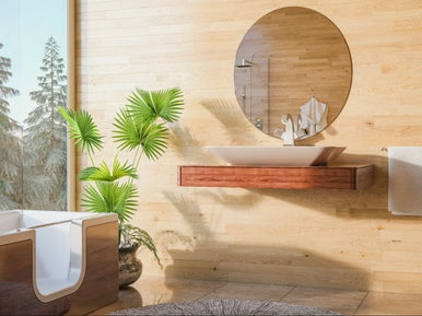 10 id es pour am nager une salle de bains cocooning. Black Bedroom Furniture Sets. Home Design Ideas