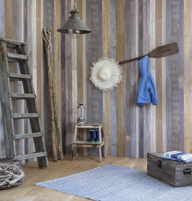 Le lambris transforme les murs leroy merlin - Lambris pvc chambre ...