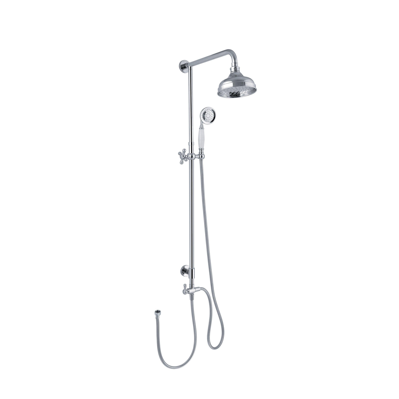 Colonne de douche et bain sans robinetterie, SENSEA Retro