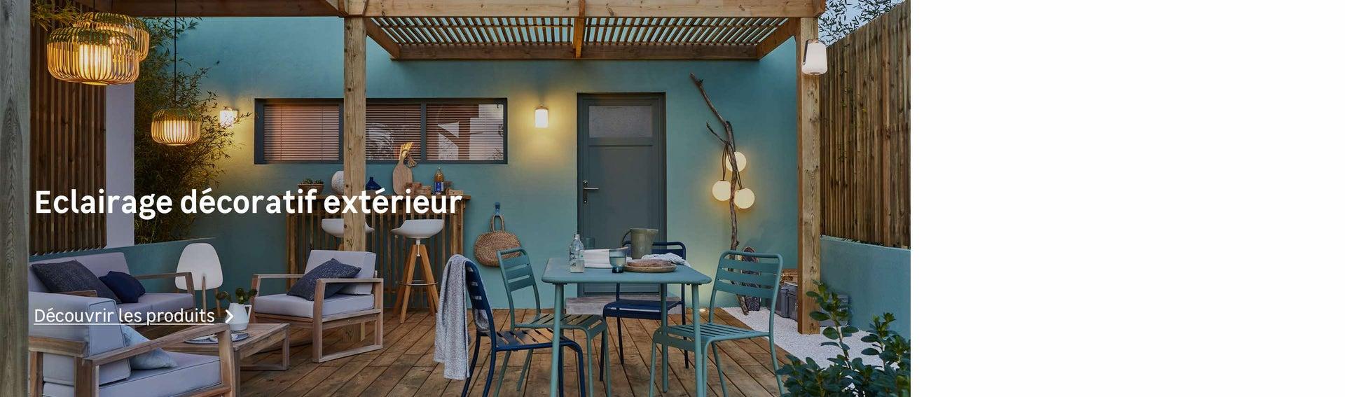 Eclairage De Terrasse Exterieur eclairage extérieur, luminaire jardin, lampe led, solaire