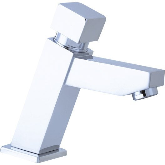 Robinet lave mains eau froide chrom sensea luka leroy - Robinet lave main eau froide ...