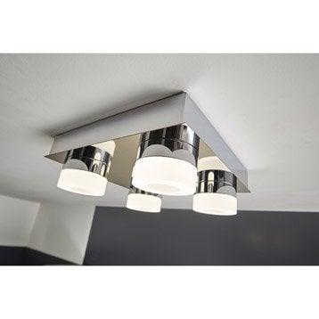 Plafonnier Icaria, LED 4 x 4 W, LED intégrée blanc froid