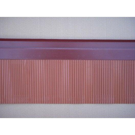 Solin Mastic à Bavette LMC VIRANO Rouge, L.160 Mm X L.2 M