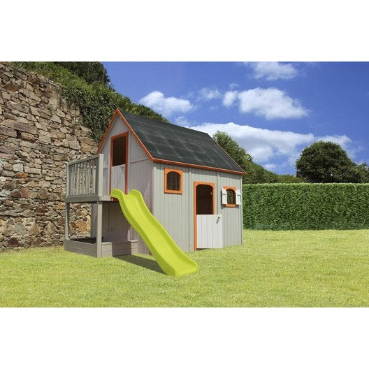 Maisonnette chalet maison cabane enfant au meilleur - Maison jardin bois castorama mulhouse ...