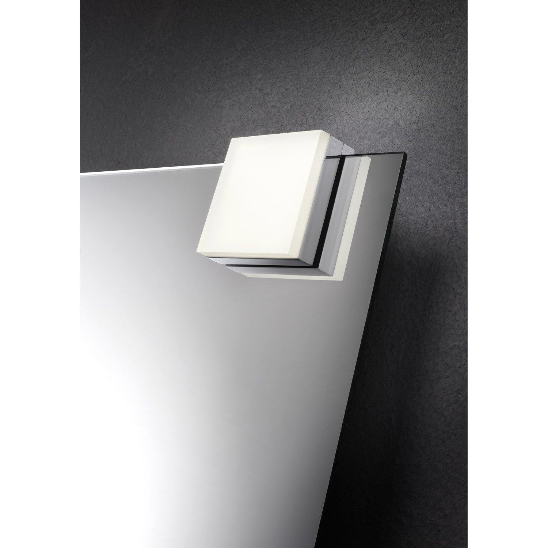 Spot à fixer sur miroir Glow, LED 1 x 5 W, LED intégrée blanc froid ...