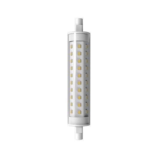 ampoule tube led 9w quiv 75w r7s 118mm 3000k lexman. Black Bedroom Furniture Sets. Home Design Ideas