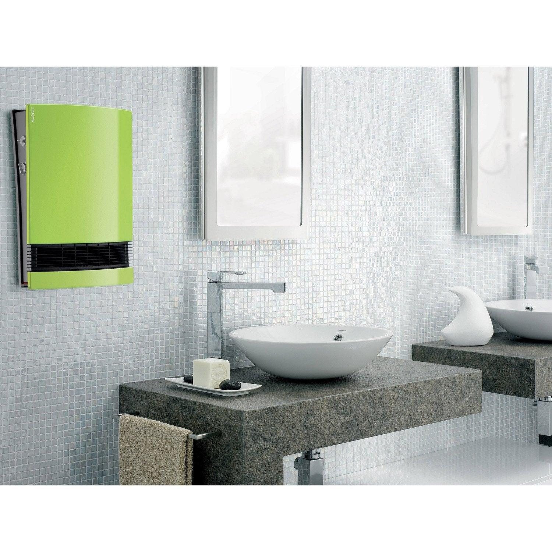 radiateur soufflant lectrique supra lito 21 vert pistache. Black Bedroom Furniture Sets. Home Design Ideas