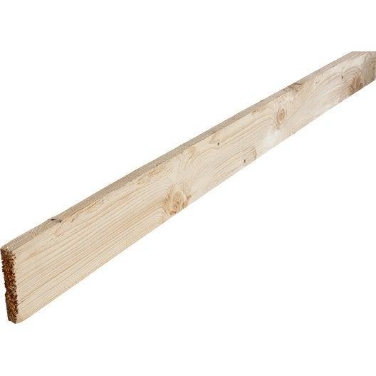 planche sapin non traité 25x100 mm 3 m chx3 | leroy merlin