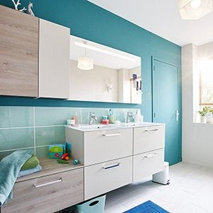 Salle de bains leroy merlin - Accessibilite salle de bain ...