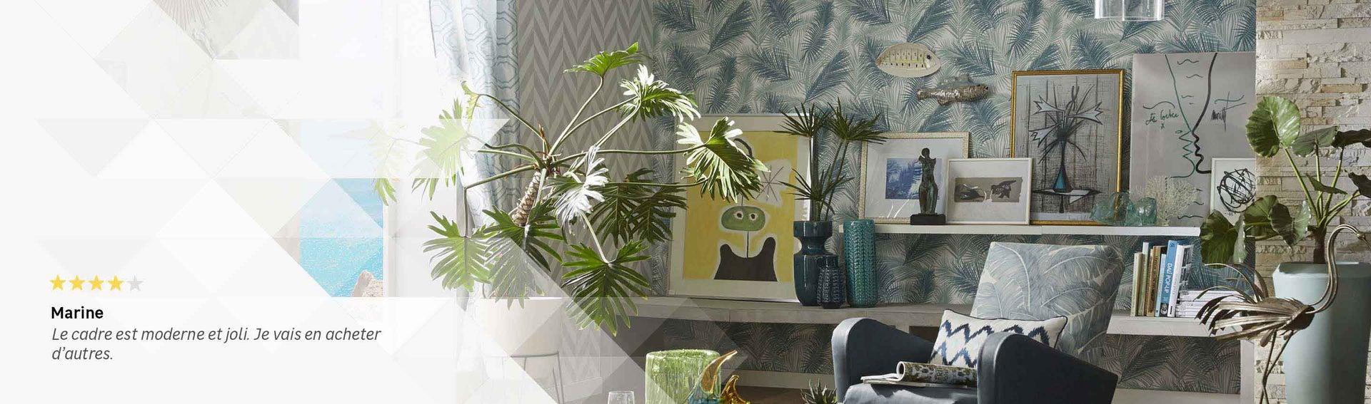 stickers cadre affiche et miroir d coration. Black Bedroom Furniture Sets. Home Design Ideas