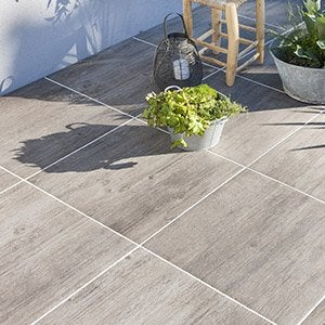 Cloison exterieur terrasse elegant best carrelage sur for Miroiterie leroy merlin
