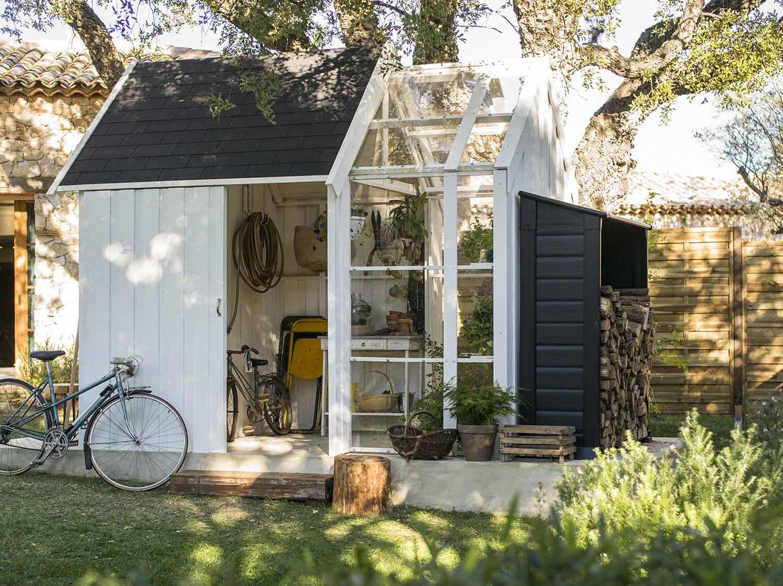 abri de jardin en bois 8 16m2 ep 28mm mod le elan leroy merlin. Black Bedroom Furniture Sets. Home Design Ideas