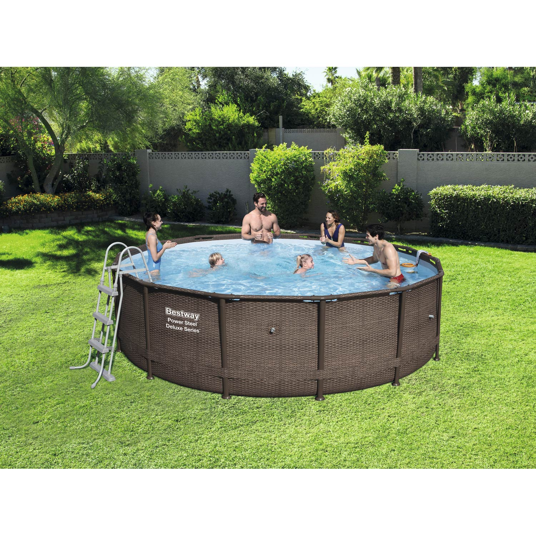 piscine hors sol tubulaire 56664 bestway diam l 4. Black Bedroom Furniture Sets. Home Design Ideas
