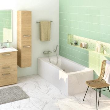 Baignoire baln o baignoire baln o spa et sauna au meilleur prix leroy merlin - Baignoire 130 x 70 leroy merlin ...