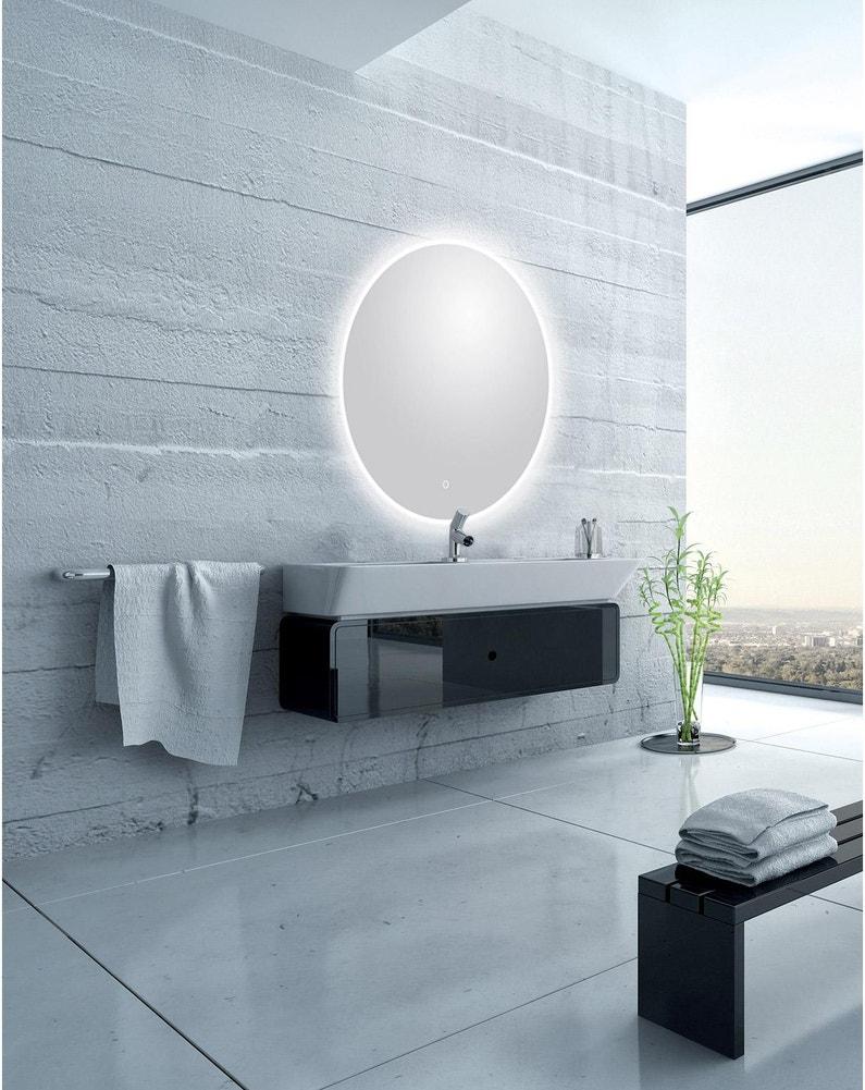 100 Remarquable Suggestions Miroir Rond Salle De Bain Avec Eclairage