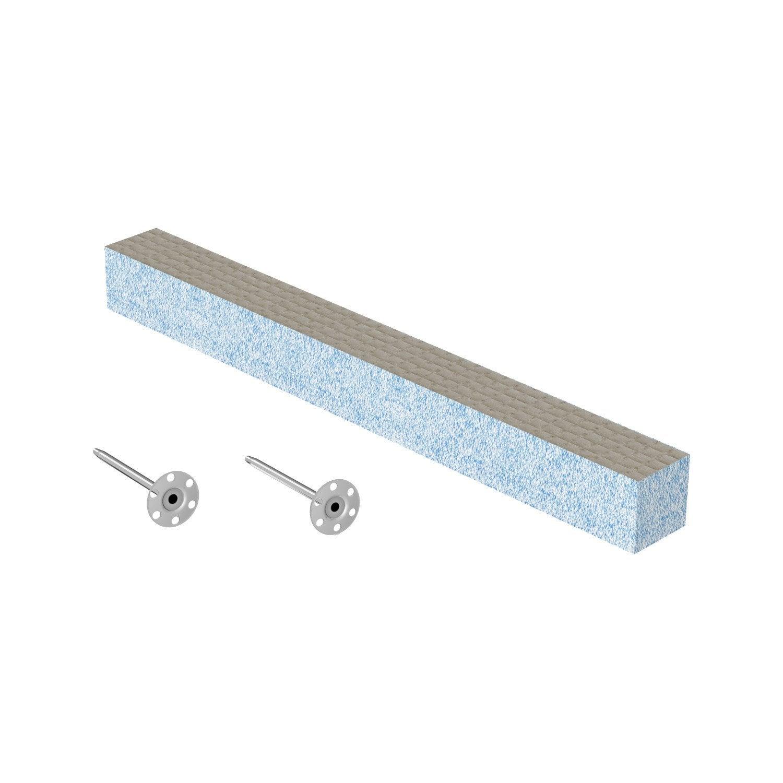 fixation habillage de baignoire h 5 cm x cm lux elements leroy merlin. Black Bedroom Furniture Sets. Home Design Ideas