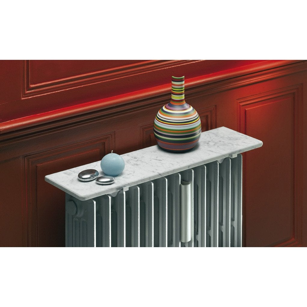 tablette radiateur blanc x cm mm leroy. Black Bedroom Furniture Sets. Home Design Ideas