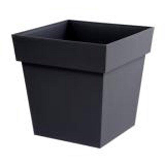 Pot de fleurs jardini re poterie d corative au meilleur prix leroy merlin - Jardiniere plastique pas cher ...
