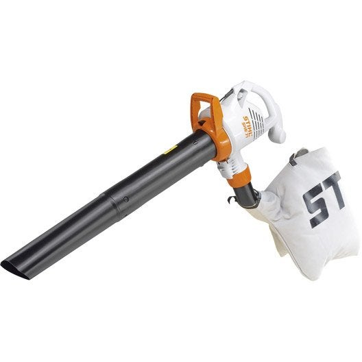aspirateur souffleur broyeur electrique stihl she 71 leroy merlin. Black Bedroom Furniture Sets. Home Design Ideas