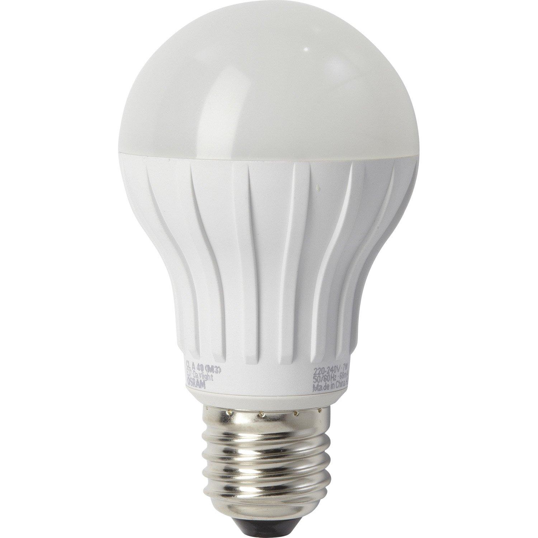 ampoule standard led 6w 470lm quiv 40w e27 2700k 220. Black Bedroom Furniture Sets. Home Design Ideas