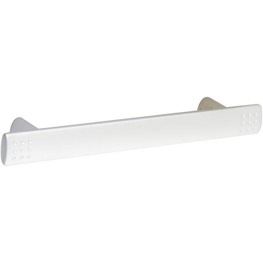 Poign e de meuble golf zamak mat entraxe 96 mm leroy merlin - Poignee de meuble entraxe 85mm ...