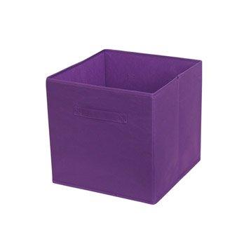 Panier malle et boite de rangement accessoires de rangement leroy merlin - Cubes de rangement leroy merlin ...