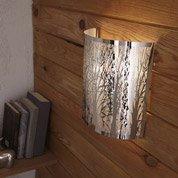 Applique Forest, 1 x 40 W, métal chromé, INSPIRE
