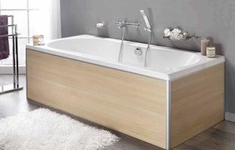 Comment choisir son tablier de baignoire leroy merlin - Comment nettoyer une baignoire en acrylique ...