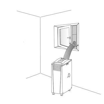 Accessoires de climatiseur chauffage et climatisation for Climatisation fenetre