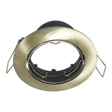 Anneau pour spot à encastrer Clane orientable sans ampoule INSPIRE bronze