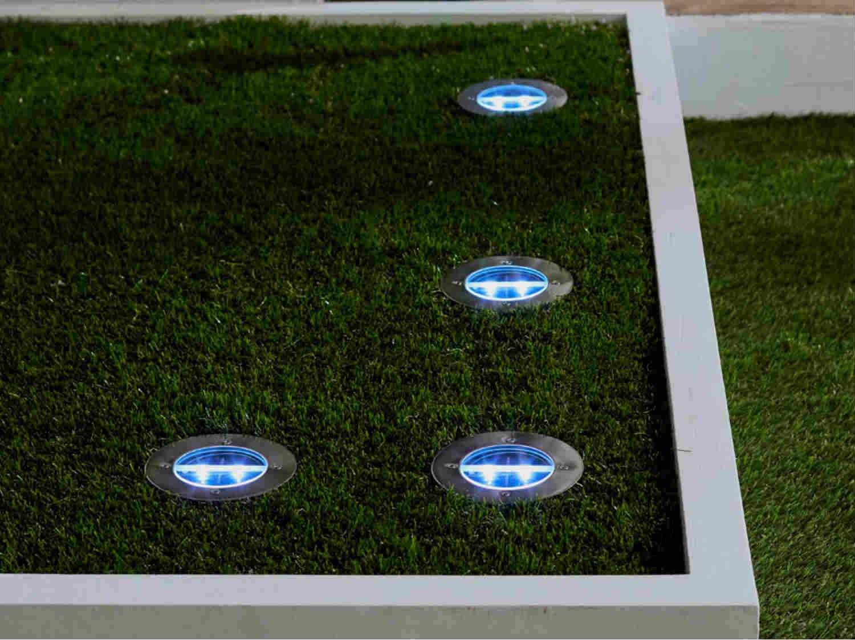 Lumiere exterieur encastrable amazing x lampe de spot for Tapis exterieur costco