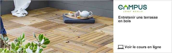 Cours - Entretenir une terrasse en bois