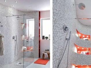 Réaliser cette paroi ondulée dans la douche