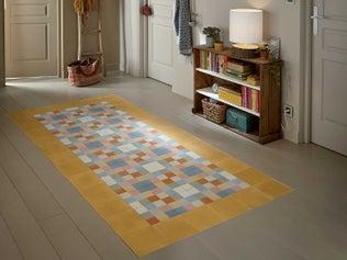 Créer ce tapis en trompe-l'œil