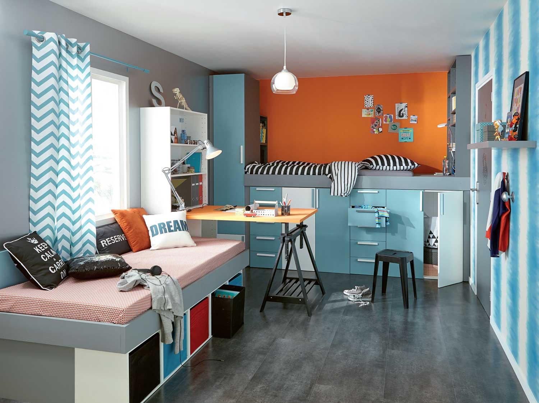 Comment cr er un mini studio pour pr ado leroy merlin - Leroy merlin chambre ...